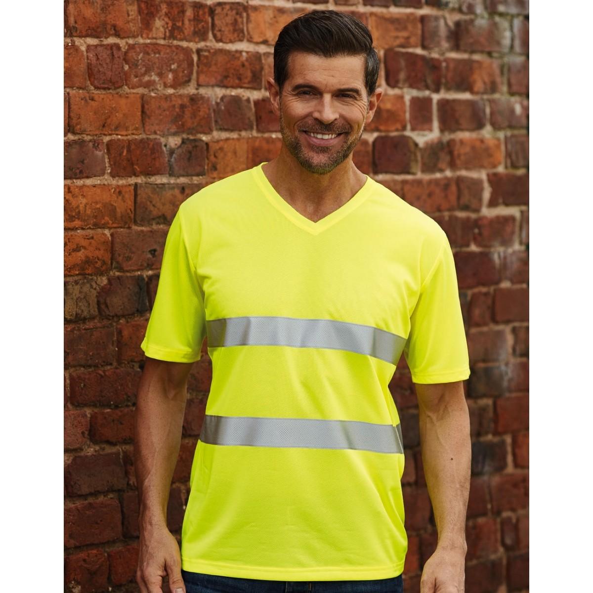 Fluo Super Light V-Neck T-Shirt