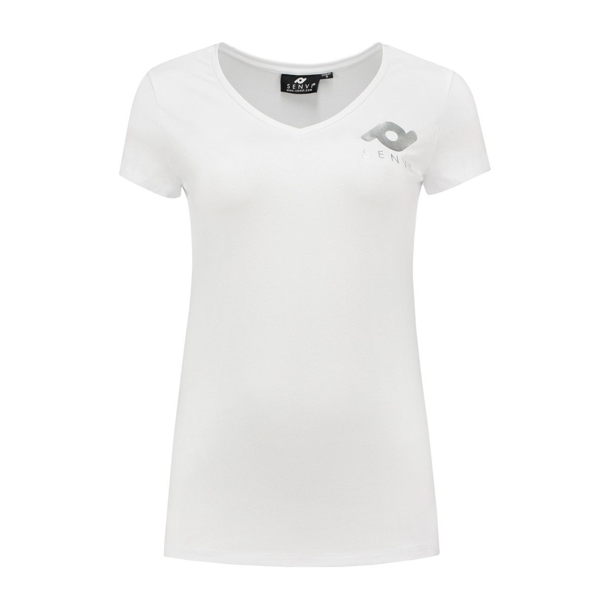Dames T-shirt SENVI wit