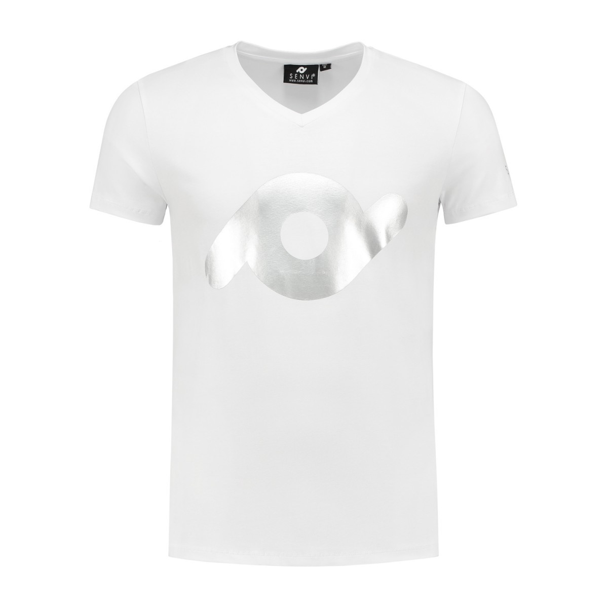 Heren T-shirt SENVI wit