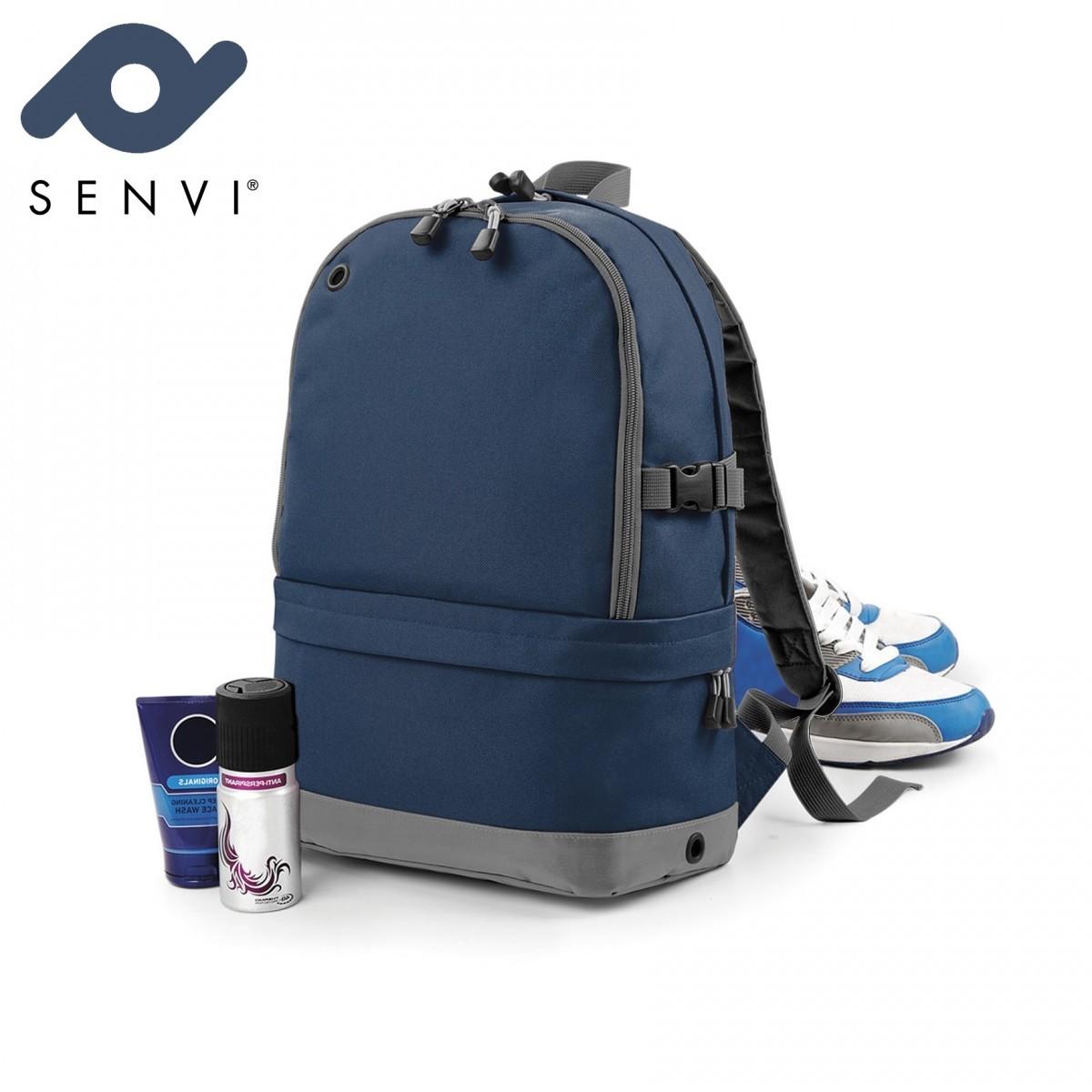 Senvi Sports Pro Rugzak kleur Blauw Grijs (waterafstotend)