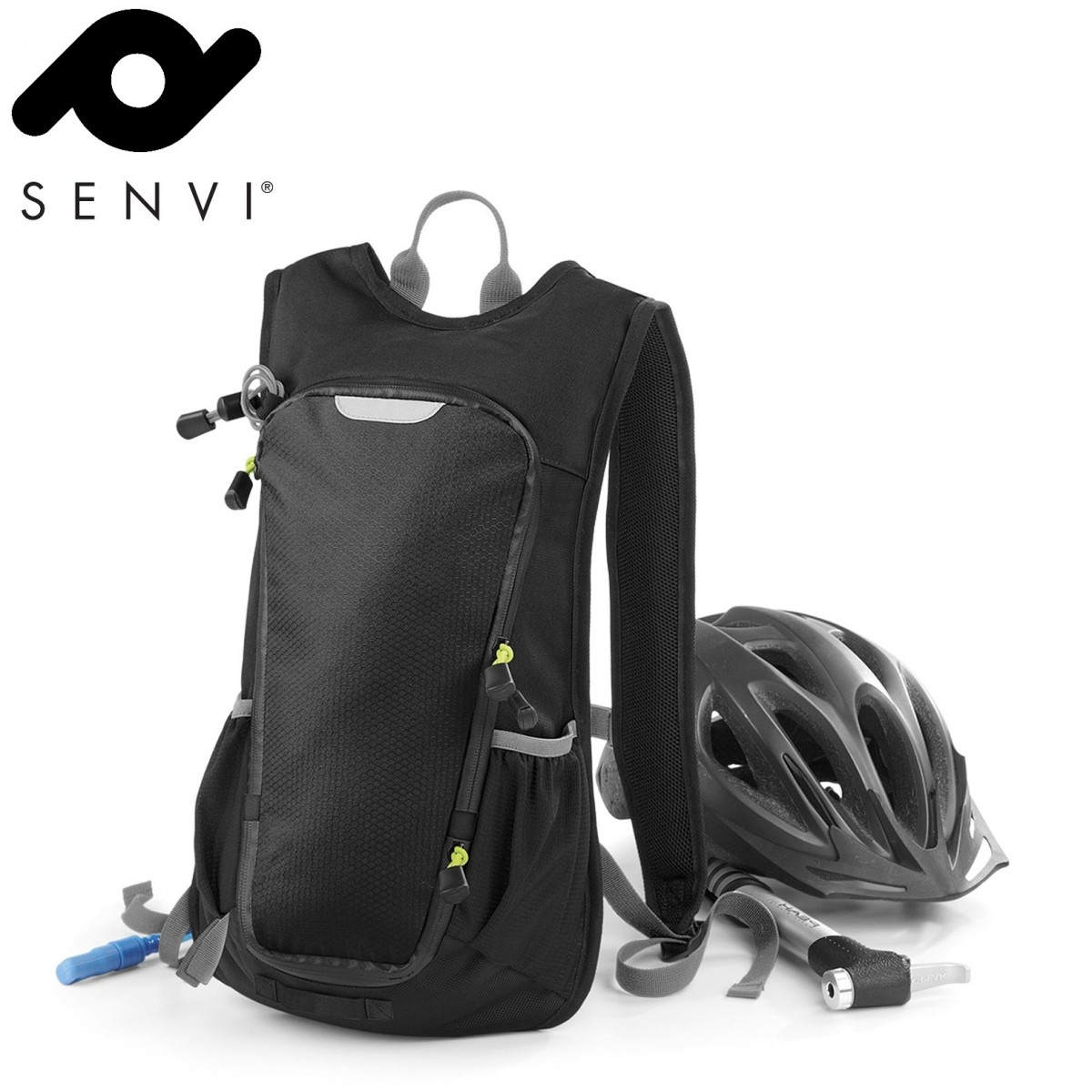Senvi Ultimate SLX Hydration Sport Rugzak Kleur Zwart/Grijs