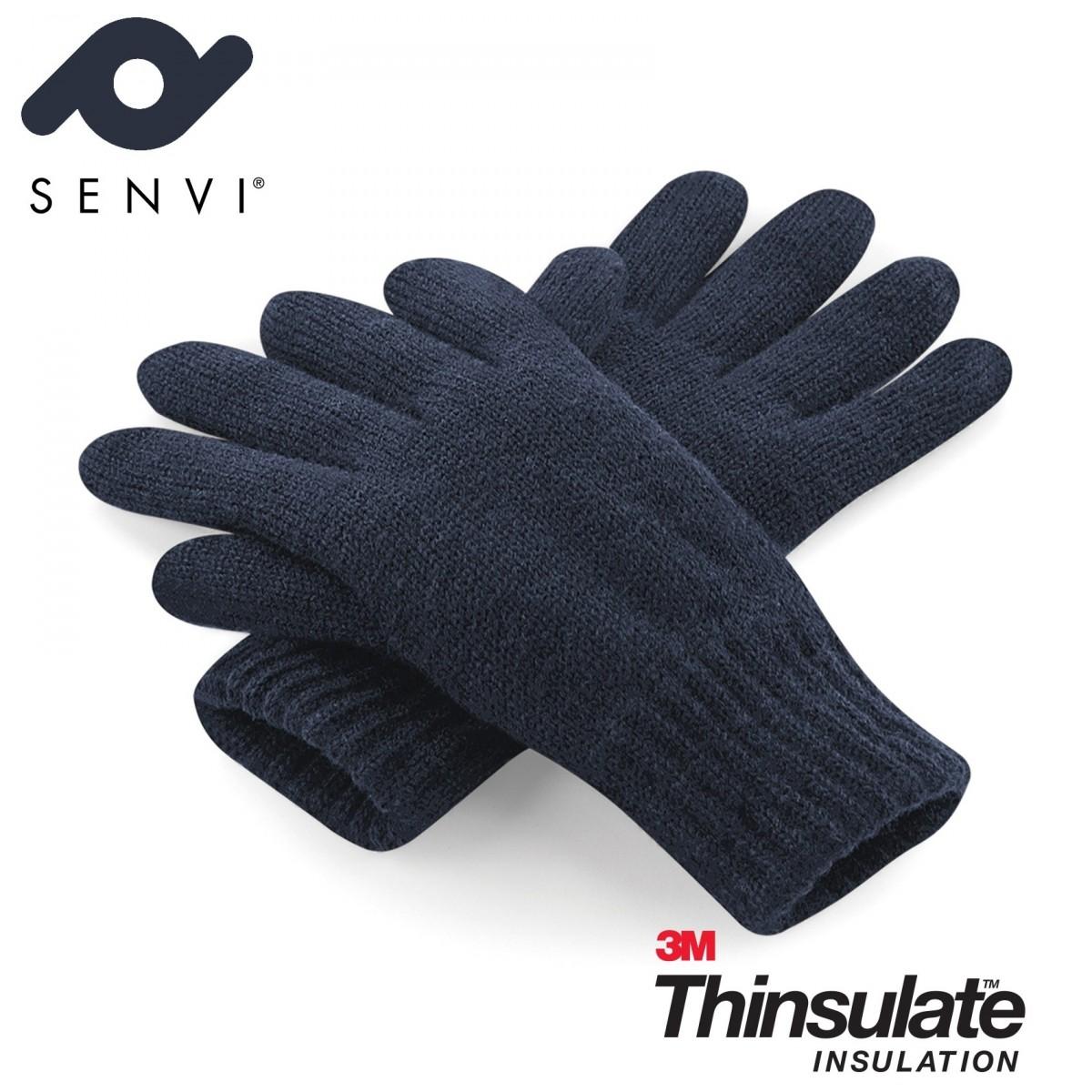 Senvi klassieke 3M Thinsulate™ Handschoenen Blauw Maat L/XL (Volledig gevoerd)