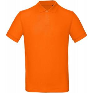 Heren Oranje Polo REGULAR FIT 100 % Katoen EK2021