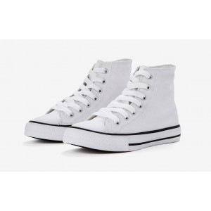 High Top Printable Canvas Shoe/Junior