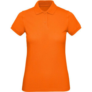 Dames Oranje Polo REGULAR FIT 100 % Katoen EK2021