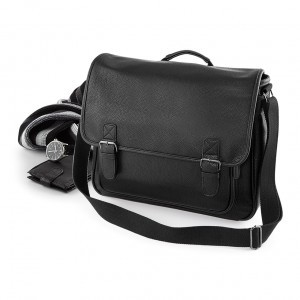 SENVI MESSENGER BAG LEATHERLOOK