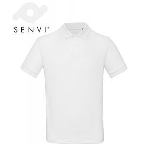 Senvi Classic Fit Polo - Maat M - Kleur Wit