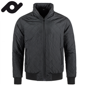 Senvi casual gevoerde jas voor mannen Kleur Zwart Maat XXL