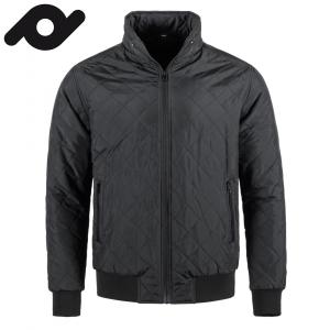 Senvi casual gevoerde jas voor mannen Kleur Zwart Maat L