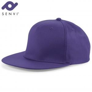 Senvi Snapback Rapper Cap Paars (One size fits all)