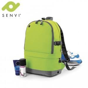 Senvi Sports Pro Rugzak kleur Lime (waterafstotend)