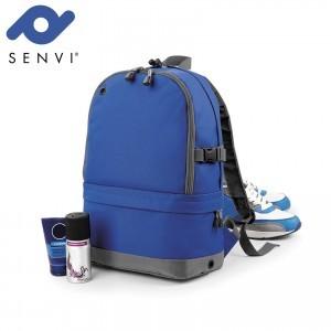 Senvi Sports Pro Rugzak kleur Royal - Grijs (waterafstotend)