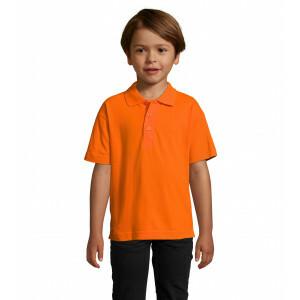 Kids Oranje Polo REGULAR FIT 100 % Katoen EK2021
