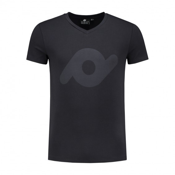 SENVI Heren T-shirt antraciet